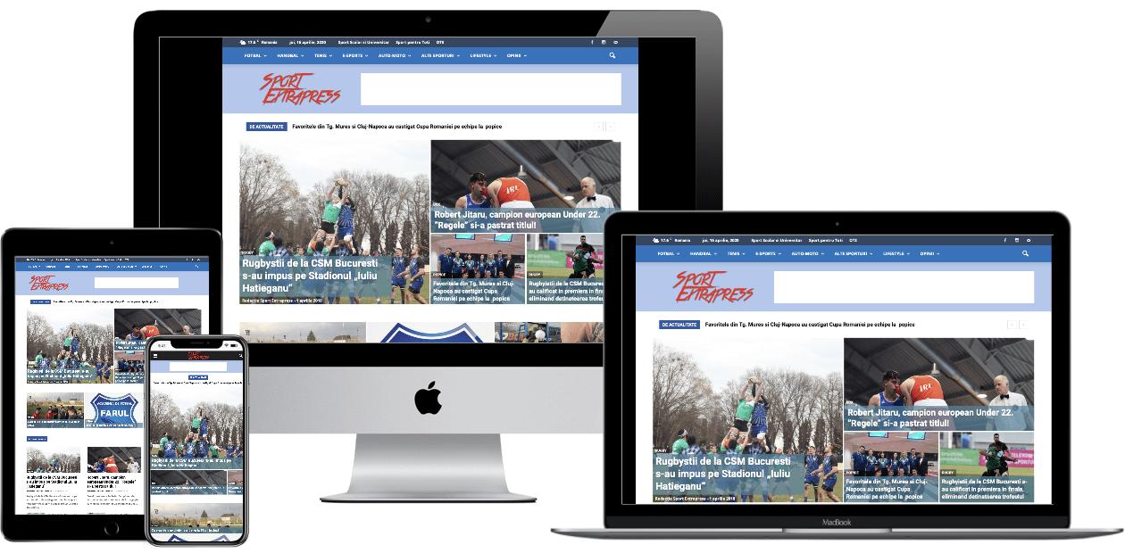 Website – Sport Extrapress