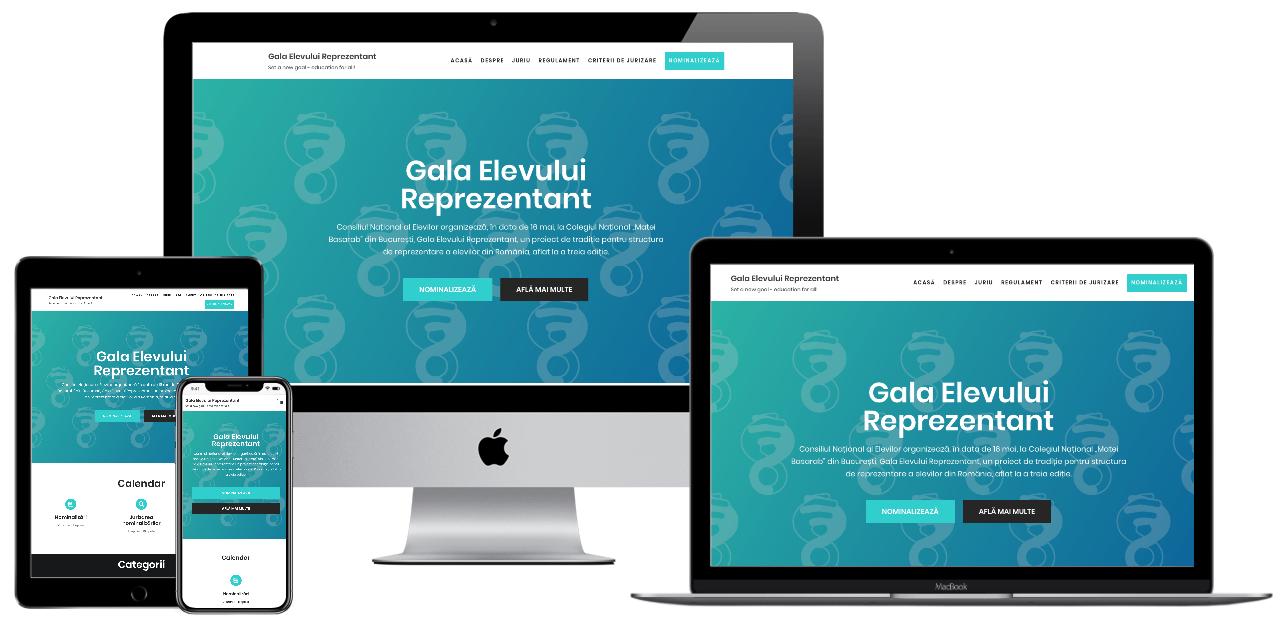Website – Gala CNE