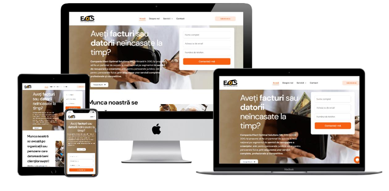 Website – Efect Optimal Solution