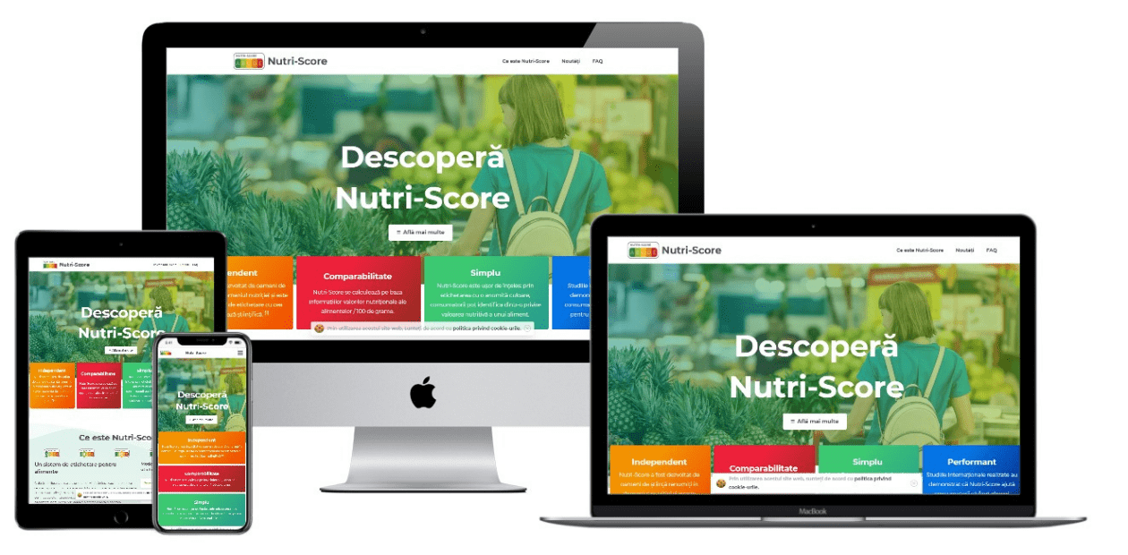 Website – Nutri-Score