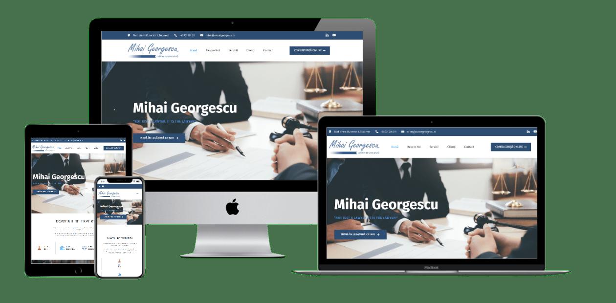Website – Avocat Georgescu