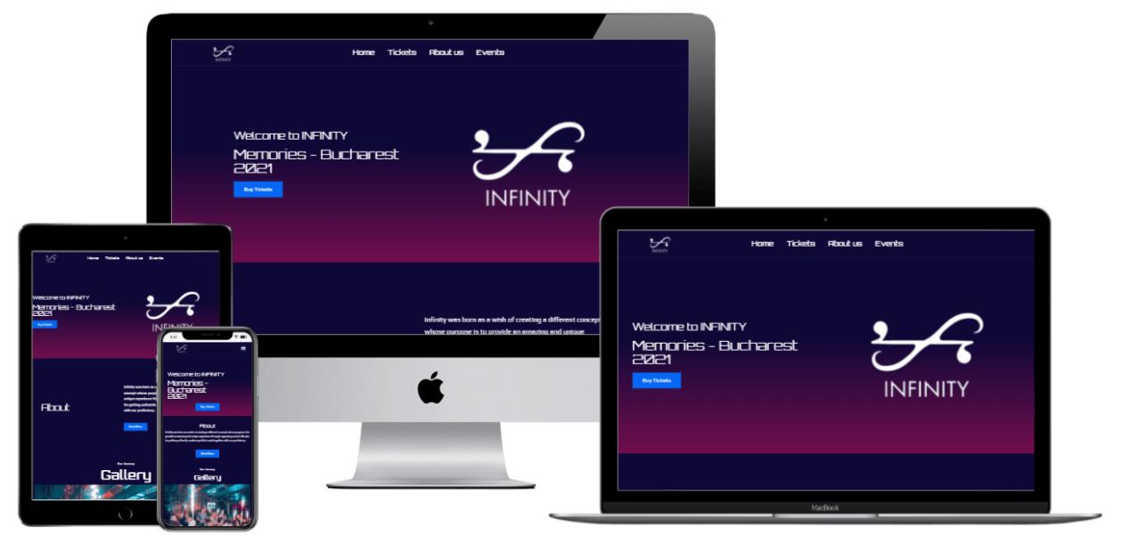 Website – Infinity Romania
