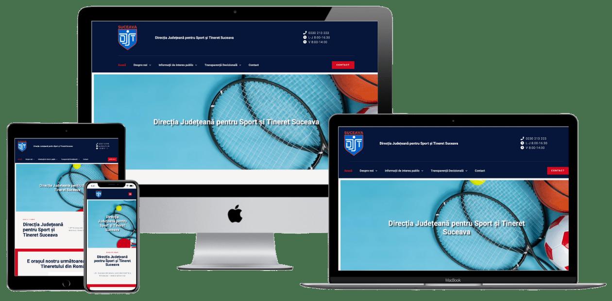 Website DJST Suceava